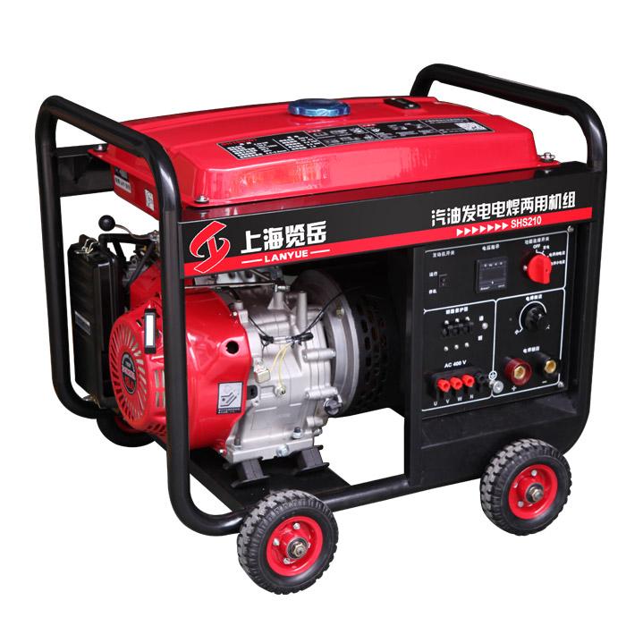 200A汽油三相发电电焊两用机组SHS210 手动