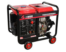 140A柴油单相发电电焊两用机组 DMD190LE电启动