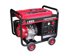 140A汽油单相发电电焊两用机组 SH190 手启动