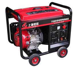 200A汽油单相发电电焊两用机组  SH210手启动