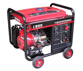 140A汽油单相发电电焊两用机组 SH190D电动